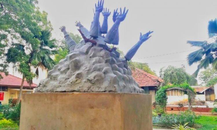 Jaffna uni destroyed memorial